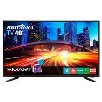 "Smart TV Britânia LED 40""  BTV40E63SN - Netflix -"