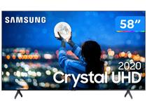 "Smart TV Crystal UDH 4K LED 58"" Samsung 58TU7000 Wi-Fi Bluetooth 2 HDMI 1 USB Visual Livre de Cabos -"
