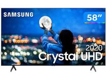 "Smart TV Crystal UDH 4K LED 58"" Samsung  - 58TU7000 Wi-Fi Bluetooth 2 HDMI 1 USB"