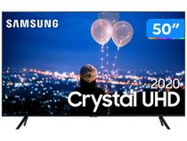"Smart TV Crystal UHD 4K LED 50"" Samsung  - UN50TU8000GXZD Wi-Fi Bluetooth HDR 3 HDMI 2 USB"