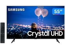 "Smart TV Crystal UHD 4K LED 55"" Samsung  - 55TU8000 Wi-Fi Bluetooth HDR 3 HDMI 2 USB"