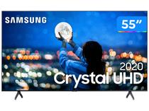 "Smart TV Crystal UHD 4K LED 55"" Samsung  - UN55TU7000GXZD Wi-Fi Bluetooth 2 HDMI 1 USB"