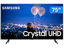 "Smart TV Crystal UHD 4K LED 75"" Samsung  - 75TU8000 Wi-Fi Bluetooth HDR 3 HDMI 2 USB"