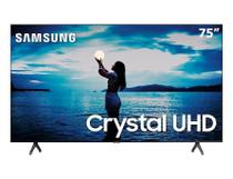 "Smart TV Crystal UHD 75"" 4K Samsung TU7020 2020, 2 HDMI, 1 USB, Wi-Fi, Bluetooth -"