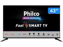 "Smart TV Full HD 43"" Philco PTV43N5CG70BLF Wi-Fi - Bluetooth 3 HDMI 2 USB -"