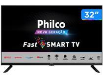 "Smart TV HD D-LED 32"" Philco PTV32G70SBL - Wi-Fi 2 HDMI 1 USB -"