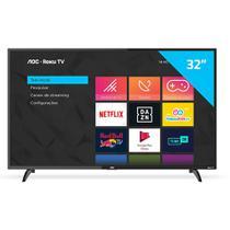 "Smart TV HD LED 32"" AOC 32S5195/78G Conversor Digital Wi-Fi -"
