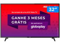 "Smart TV HD LED 32"" AOC 32S5195/78G - Wi-Fi 3 HDMI 1 USB"