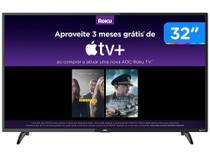 """Smart TV HD LED 32"""" AOC 32S5195/78G - Wi-Fi 3 HDMI 1 USB -"""