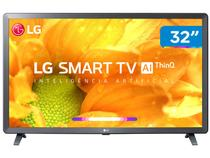"Smart TV HD LED 32"" LG 32LM625BPSB Wi-Fi Bluetooth - HDR Inteligência Artificial 3 HDMI 2 USB"