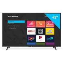 "Smart TV HD LED 43"" AOC 43S5195/78G Conversor Digital Wi-Fi -"