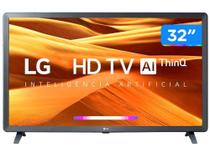 "Smart TV HD LED IPS 32"" LG 32LM621CBSB Wi-Fi - Bluetooth Inteligência Artificial 3 HDMI 2 USB -"