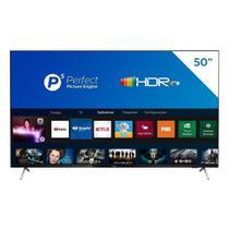 "Smart TV LCD LED 50"" Philips 50PUG7625/78 4K UHD HDR10 com Wi-Fi, 2 USB, 3 HDMI, Bluetooth, 60 Hz -"