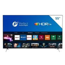 "Smart TV LCD LED 55"" Philips 55PUG7625/78 4K UHD HDR10+, 2USB, Wi-Fi, Bluetooth, 3 HDMI e 60 Hz -"