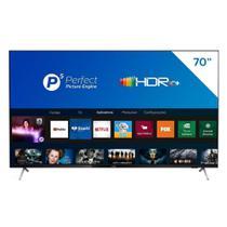 "Smart TV LCD LED 70"" Philips 70PUG7625/78 4K UHD HDR10+, 2USB, Wi-Fi, Bluetooth, 3 HDMI e 60 Hz -"