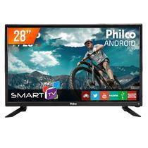 """Smart TV LED 28"""" HD Philco PH28N91 Android 2 HDMI 2 USB Wi-Fi Integrado -"""