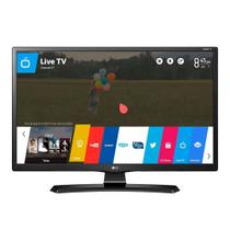 "Smart TV LED 28"" LG 28MT49S-PS HD com Wi-Fi 1 USB 2 HDMI Função Monitor DTV Screen Share e 62Hz - Elgin calculos"