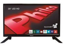 "Smart TV LED 28"" Philco Backlight D-LED  - PH28N91DSGW Conversor Digital 2 HDMI 2 USB"