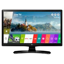 Smart TV LED 28 Polegadas LG HD HDMI 2 USB 28MT49S-PS - Lg som imagem