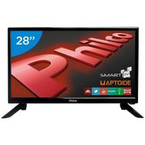 Smart TV LED 28 Polegadas Philco PH28N91DSGWA Conversor Digital HD 2 HDMI 2 USB - Britania Philco