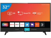 "Smart TV LED 32"" AOC 32S5295/78G Wi-Fi - HDR Conversor Digital 3 HDMI 2 USB"