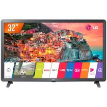Smart TV LED 32 HD LG 32LK615BPSB 2 HDMI 2 USB Wi-Fi e Conversor Digital Integrados