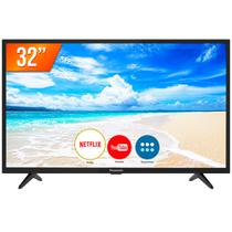 Smart TV LED 32'' HD Panasonic 32FS500B 2 HDMI 2 USB Wi-Fi Conversor Digital