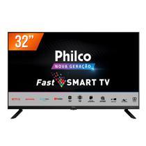 "Smart TV LED 32"" HD Philco PTV32G70SBL 2 HDMI 1 USB Wi-Fi -"