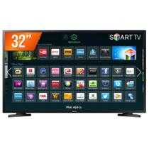 Smart TV LED 32 HD Samsung 32J4290 2 HDMI 1 USB Wi-Fi e Conversor Digital Integrados