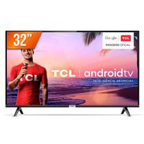 """Smart TV LED 32"""" HD TCL 32S6500S 2 HDMI 1 USB Android OS Wi-Fi -"""
