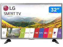 "Smart TV LED 32"" LG 32LJ600B Wi-Fi  - Conversor Digital 2 HDMI 1 USB"