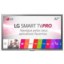 "Smart TV LED 32"" LG 32LJ601CAWZ HD com Wi-Fi 1 USB, 2 HDMI, Surround, Modo Hotel e 60 Hz -"
