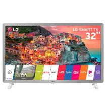 """Smart TV LED 32"""" LG 32LK610BPSA, WebOS 4.0, Wi-Fi, HDR 10 Pro, HDMI, USB - Branco -"""