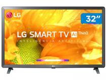 """Smart TV LED 32"""" LG 32LM625BPSB HD Wi-Fi, 2 USB, 3 HDMI, ThinQ AI, Bluetooth, WebOS 4.5, HDR Ativo, 60Hz -"""