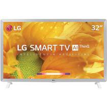 """Smart TV LED 32"""" LG WebOS 4.5 32LM620BPSA, Conversor Digital, HD, 3 Entradas HDMI e 2 Entradas USB Branca -"""