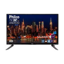 Smart TV Led 32 Philco HD 3 HDMI 2 USB Wi-Fi Ph32c10dsgwa