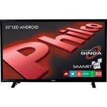 Smart TV LED 32' Philco HD PH32B51DSGW com Conversor Digital 2 HDMI 1 USB -