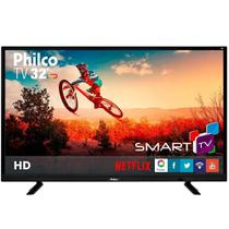 "Smart TV LED 32"" Philco PTV32E21DSWN HD com Wi-Fi, 2 USB, 2 HDMI, Surround, 60HZ -"