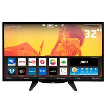 Smart TV LED 32 Polegadas AOC LE32S5760 HDMI e USB