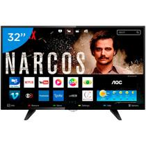 Smart TV LED 32 Polegadas AOC Wi-Fi HD USB HDMI LE32S5970 -