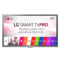 Smart TV LED 32 Polegadas LG 32LJ601C HD 2 HDMI USB Sem Base Modo Hotel -