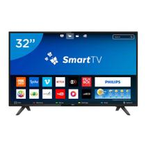 Smart TV LED 32 Polegadas Philips 32PHG5813 HD WI-FI 2 USB 2 HDMI com Botão Netflix - Aoc