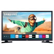 Smart TV LED 32 Polegadas Samsung 32T4300 HDR Plataforma Tizen 2 HDMI 1 USB - Preta -