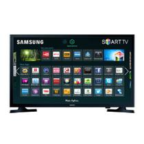 Smart TV LED 32 Polegadas Samsung HD USB HDMI - UN32J4300AGXZD - Samsung audio e video