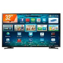 Smart TV LED 32 Polegadas Samsung LH32BETBLGGXZD 2HDMI 1USB Preto Bivolt -
