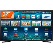 "Smart Tv Led 32"" Samsung Hd Hdmi Usb Wi-fi Lh32benelga/zd -"