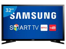 "Smart TV LED 32"" Samsung UN32J4300 - Conversor Digital Wi-Fi 2 HDMI 1 USB"