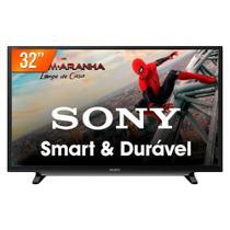 """Smart TV LED 32"""" Sony KDL-32W655D HD Wi-FI Conversor Digital 2 HDMI 2 USB -"""