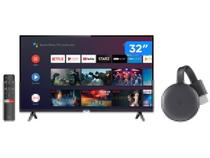 """Smart TV LED 32"""" TCL 32S6500S Android Wi-Fi - HDR + Chromecast 3 Streaming Device Google"""