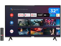 """Smart TV LED 32"""" TCL 32S6500S Android Wi-Fi - HDR Inteligência Artificial 2 HDMI USB"""